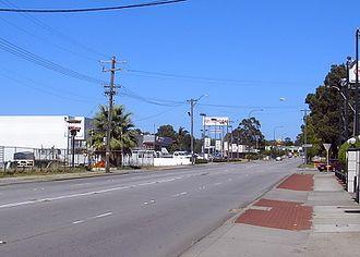 Welshpool, Western Australia - Welshpool Rd.
