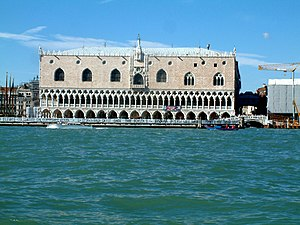 Doge of Venice - The Doge's Palace complex.