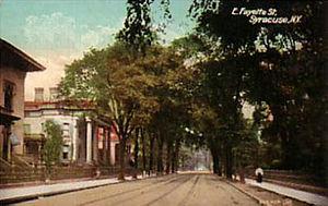 Far Westside, Syracuse - West Fayette Street c.1900