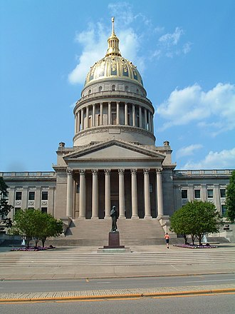 Charleston, West Virginia - The West Virginia State Capitol