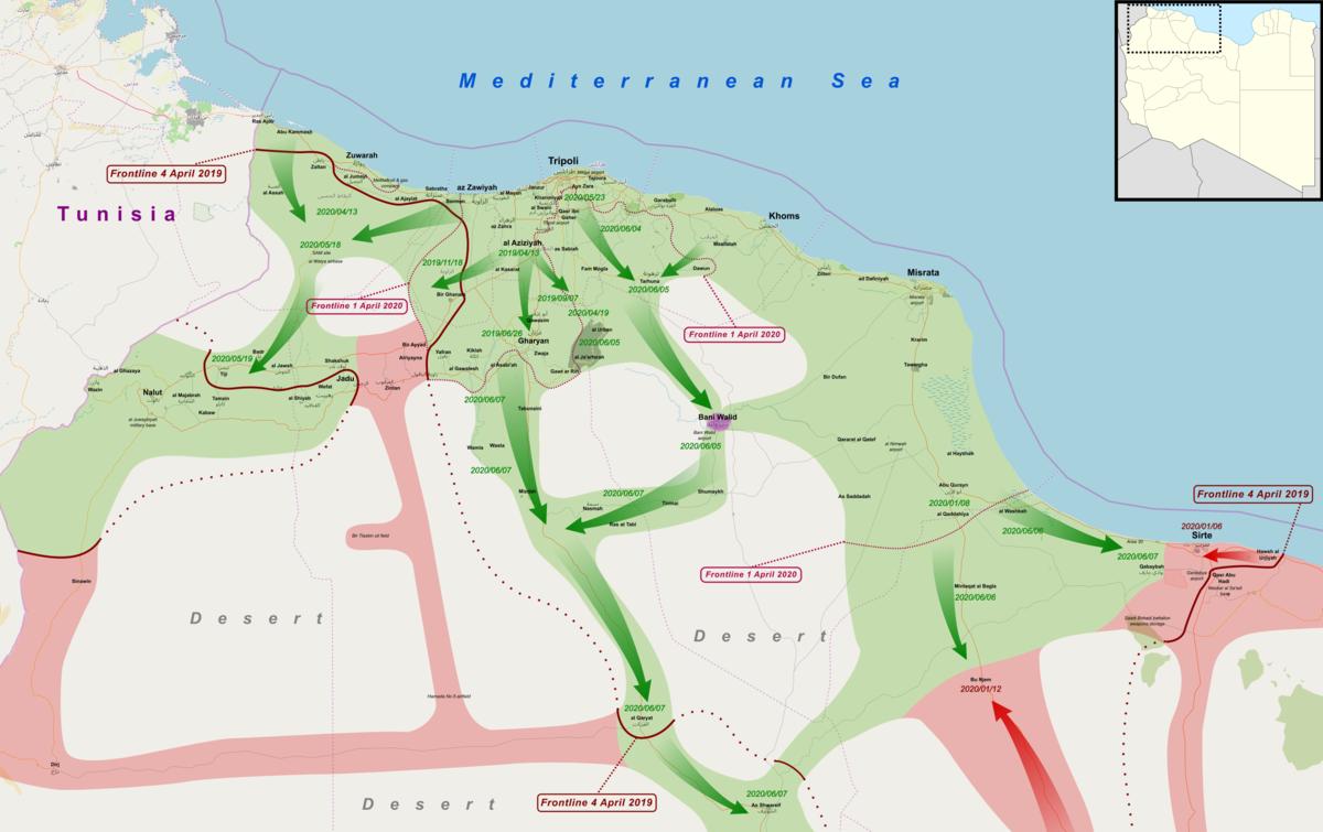c779c9c58dfc0 هجوم غرب ليبيا 2019 - ويكيبيديا، الموسوعة الحرة