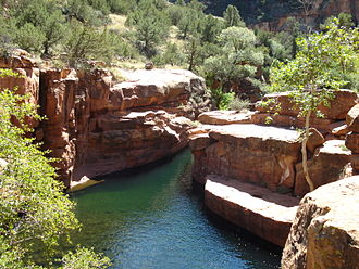 Coconino National Forest - Wet Beaver Creek in Coconino National Forest
