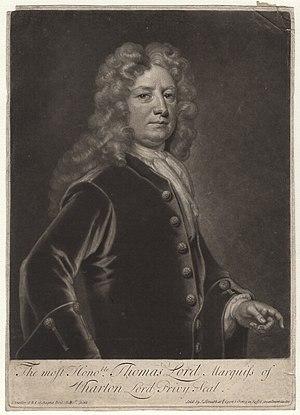 Thomas Wharton, 1st Marquess of Wharton - Image: Whartonlord