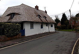 Didcot - White Cottage, the oldest house in Didcot.