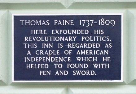 White Hart Paine plaque