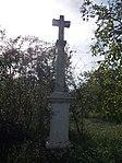 White crucifix at a walnut plantation. - Ófalu, Érd.JPG