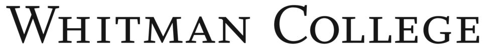 Whitman College wordmark