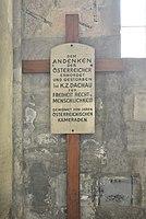 Wien01 Michaelerplatz005 Michaelerkirche 2017-04-30 GuentherZ GD NS-Opfer Dachau 1513.jpg