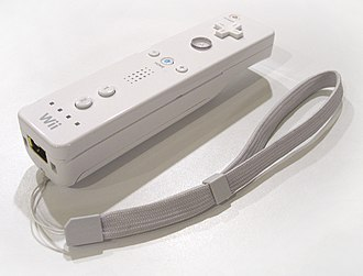 Wii Remote - Wii Remote with original strap
