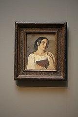 Portrait of an Italian woman