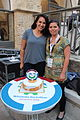 Wikimedia Hackathon Jerusalem Cake IMG 8755.JPG