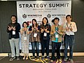 Wikimedia Thailand at ESEAP strategy summit 2019.jpg