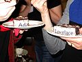 Wikimedia UK Ada Lovelace Day editathon - cake 2.JPG