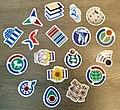 Wikimedia project stickers.jpg