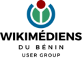 Wikimedians of Bénin User group officiel logo French.png