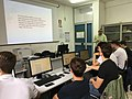 Wikisource e Commons, laboratorio wiki al liceo Medi Battipaglia 2018 02.jpg