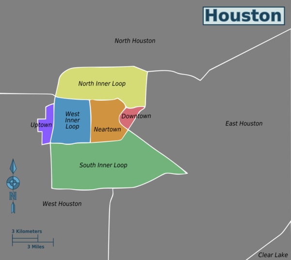 Houston – Travel guide at Wikivoyage