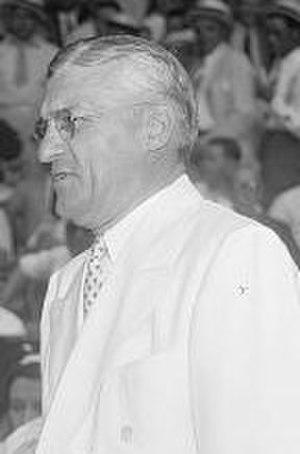 Will Harridge - Will Harridge at the 1937 Major League Baseball All-Star Game.