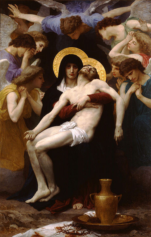 Image result for bouguereau pieta painting