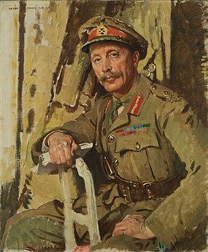 David Watson (general) - Major General Sir David Watson (portrait by Irish war artist William Orpen, 1917–18)