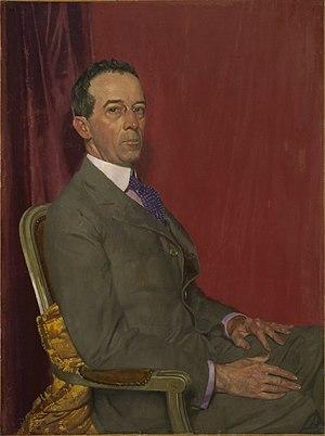 Robert Sterling Clark - William Orpen: Portrait of Robert Sterling Clark, (c. 1921-1922)