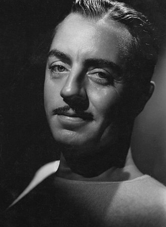 William Powell - 1936 portrait for Metro-Goldwyn-Mayer