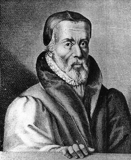 William Tyndale translated the New Testament into English in 1525. William Tyndale.jpg