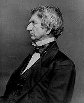 Portrait de William Henry Seward, secrétaire d'État pour l'union et candidat à l'investiture républicaine en 1860.