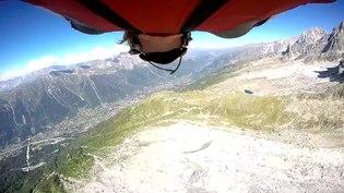 File:Wingsuit flight Jump from Aiguille du Midi 2016 - Chamonix.webm