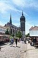 Wittenberg Schlossstrasse Schlosskirche.jpg