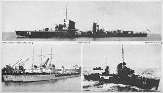 Kriegsmarine - Raubtier-class torpedo boats