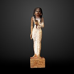 Woman holding a nenufar-N 1578