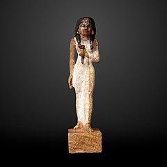 Woman holding a nenufar-N 1578