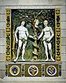 Workshop of Giovanni della Robbia - Adam and Eve - Walters 27219 - Front Installation.jpg
