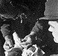 Wounded, second World War Fortepan 10398.jpg