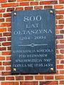 Wrocław, Ołtaszyn, tablica pamiątkowa (Aw58).JPG