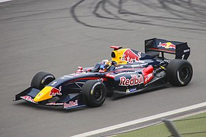 Carlos Sainz Jr. - Sainz competing for DAMS during the 2014 Formula Renault 3.5 Series, at the Nürburgring. He took the fifth of seven victories during the 2014 season at the Nürburgring, en route to the championship title.