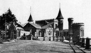 Viña del Mar - Wulff Castle as seen in 1930