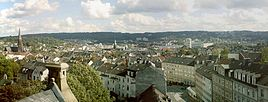 Wuppertal - View from the northern hillside