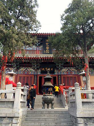 Longmen Grottoes - Xiangshan Temple