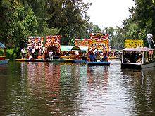 Canali di Xochimilco patrimonio dell'umanità dal 1987