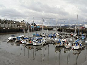 Yachts in Tayport harbour - geograph.org.uk - 754918.jpg
