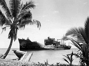 Yamazuki Maru wreck Guadalcanal 1944.jpg