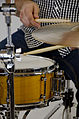 Yellow snare drum (8639412461).jpg