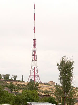 Yerevan TV Tower - Image: Yerevan TV tower