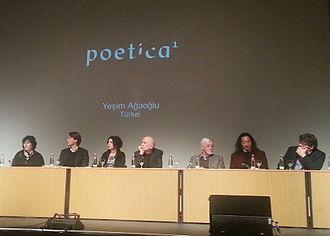 "Yeşim Ağaoğlu - Yesim Agaoglu's participation in festival ""Poetica1"""