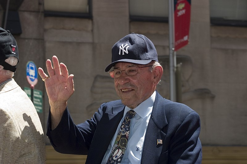 Yogi Berra heads to hospital after fall