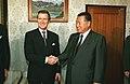Yoshiro Mori meets William Cohen.jpg