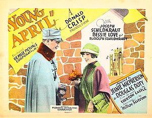 Young April - Lobby card