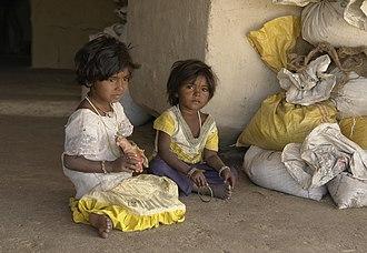 Raisen district - Young girls in the Raisen district